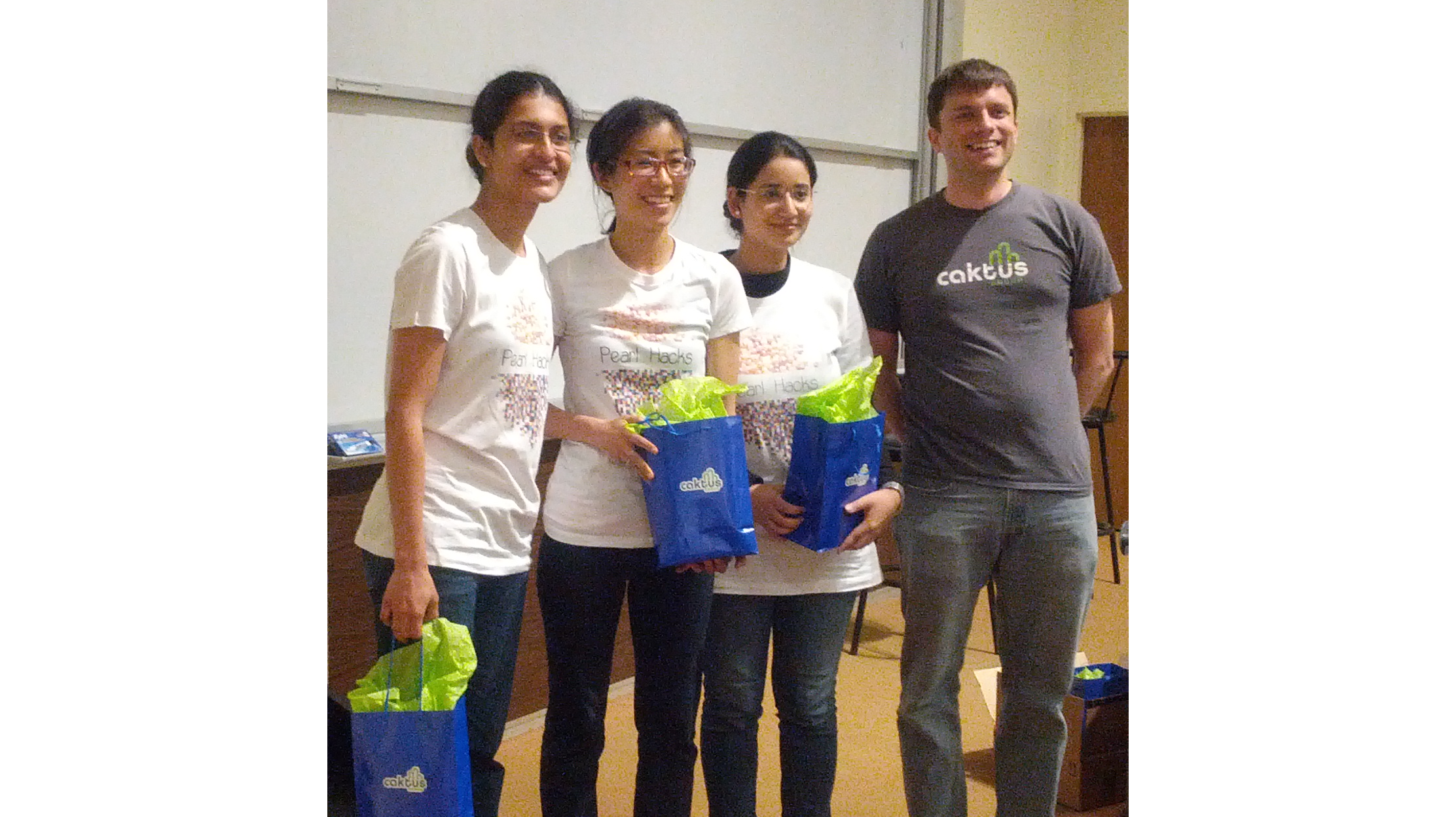 Congrats to PearlHacks Winners (Including Our Intern, Annie)!