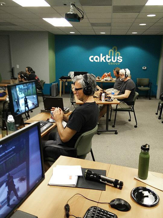 LAN Party at Caktus