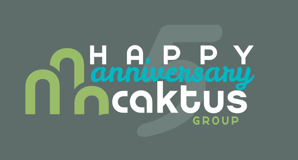 Caktus Celebrates 5 Year Anniversary