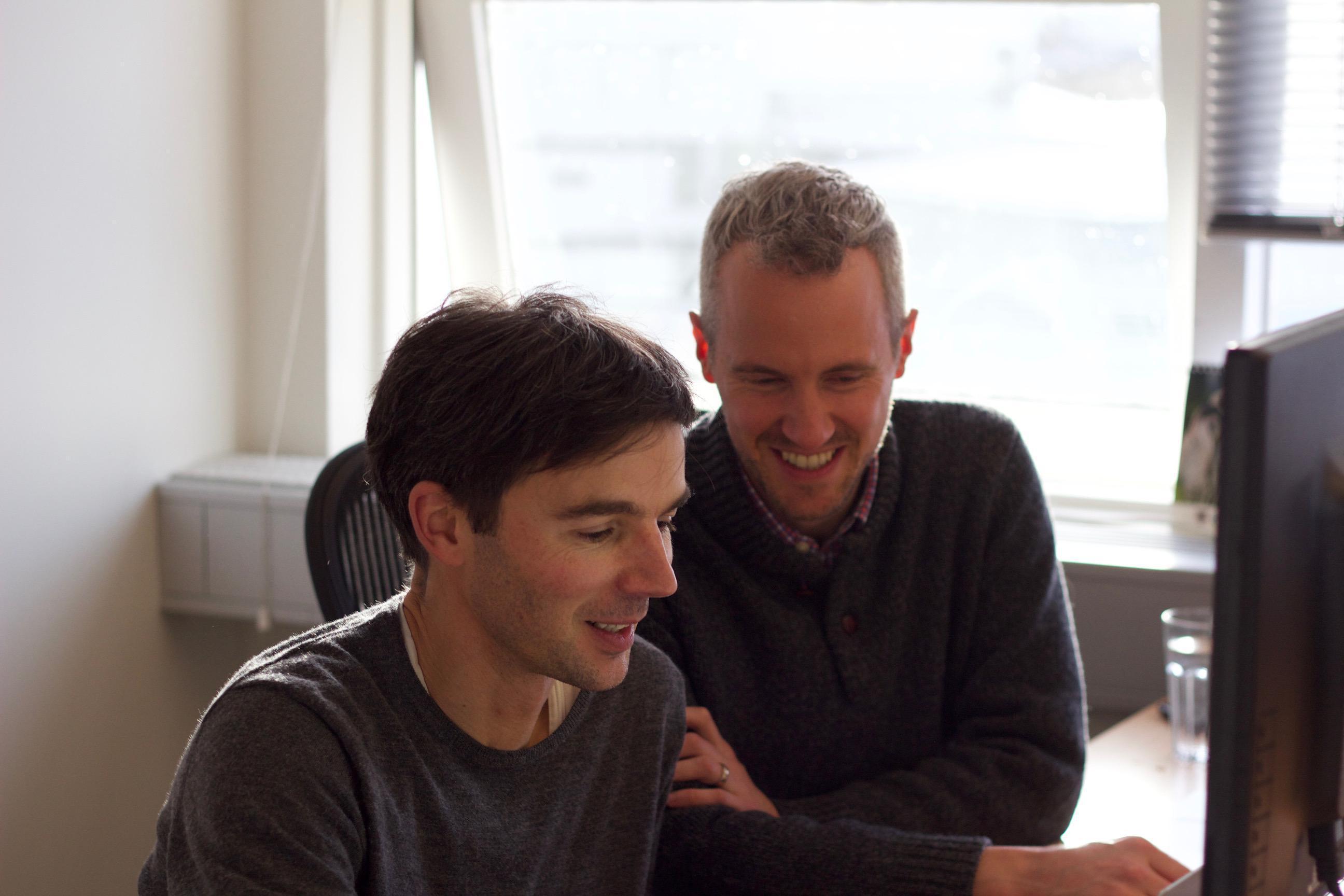Tobias & Tom in Reykjavik