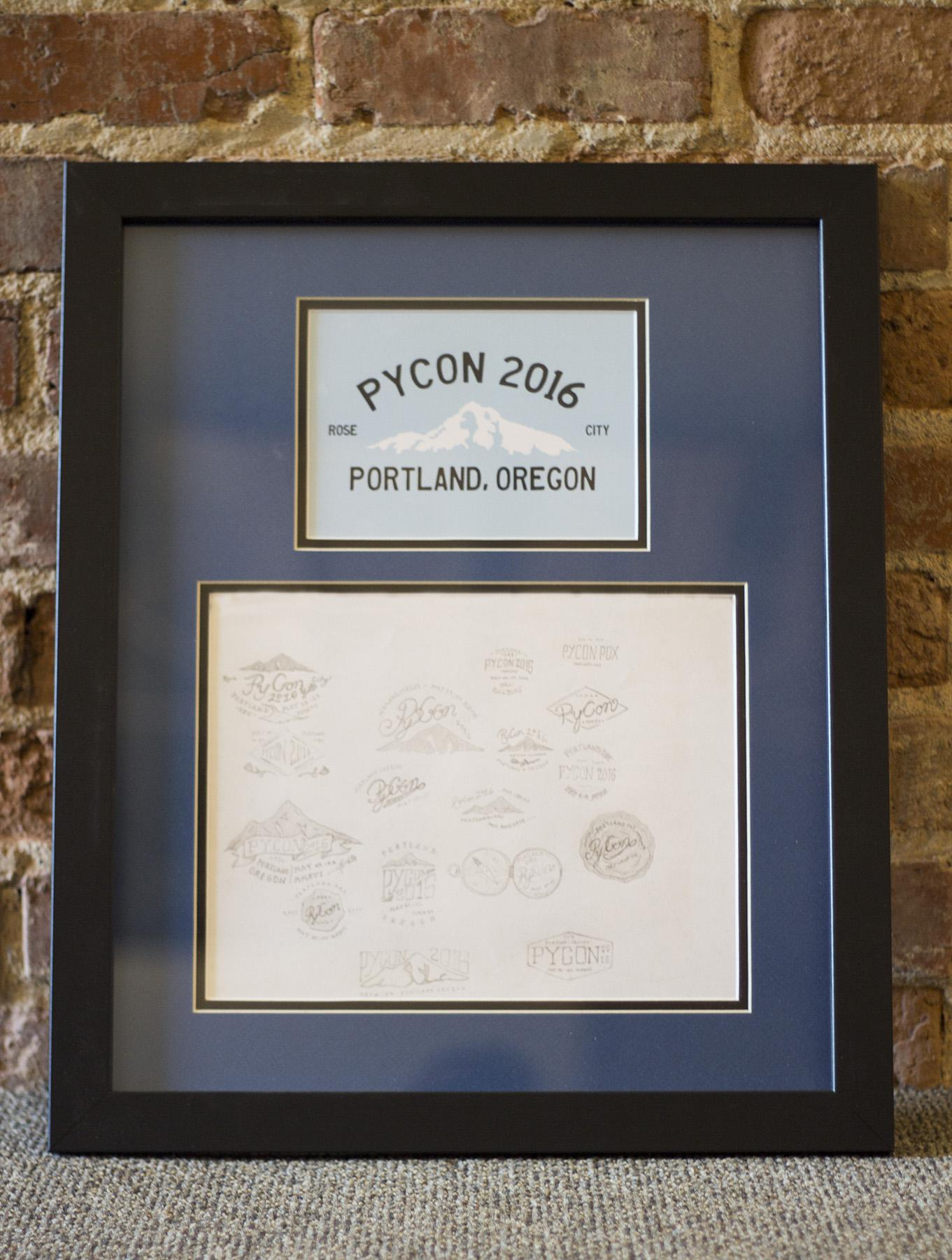 early designs for PyCon 2016