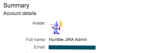 Setting a new JIRA name.