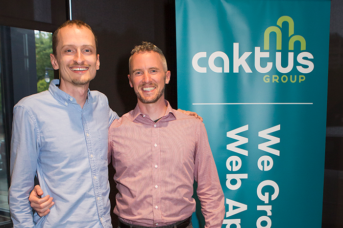 Caktus co-founders Tobias McNulty and Colin Copeland.