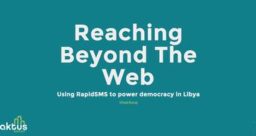 Reaching Beyond the Web: Libya Voter Registration