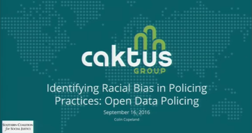 Identifying Racial Bias in Policing Practices: Open Data Policing